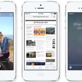 Apple announces newiOS7