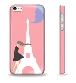 Little Black Dress by Papiere Princesse iPhone 5 case