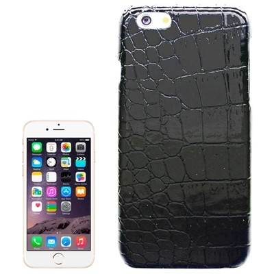 Black Crocodile Leather Skin iPhone 6 Case