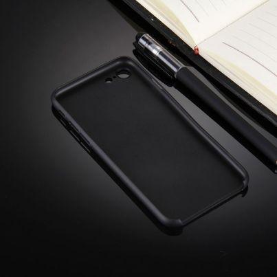 Black Ultra-thin Translucent iPhone 7 Case 2