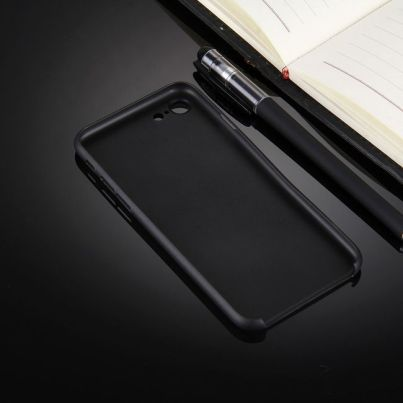 Black Ultra-thin Translucent iPhone 7 Case 2