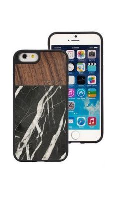 Walnut Black Marble iPhone 6 & 6S case 2