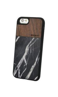 Walnut Black Marble iPhone 6 & 6S case