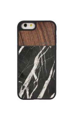 Walnut Black Marble iPhone 6 & 6S case3