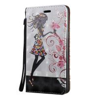 3D Flower Fairy Pattern Flip Leather Samsung Galaxy S8 PLUS Case 1