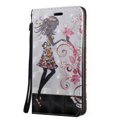 3D Flower Fairy Pattern Flip Leather Samsung Galaxy S8 PLUS Case 1
