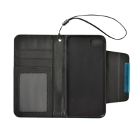 Black Detachable Horizontal Flip Leather Wallet iPhone 7 Case 1