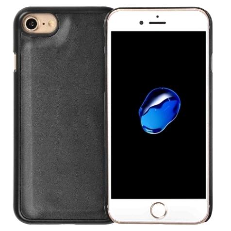 Black Detachable Horizontal Flip Leather Wallet iPhone 7 Case 2