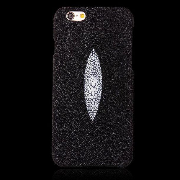Genuine Stingray Jewelry Leather iPhone 6 & 6S Case.jpg