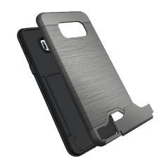 Grey Brushed Card Slot Armor Samsung Galaxy S8 PLUS Case 2