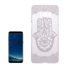 Palm Shape Flower Transparent Samsung Galaxy S8 Case