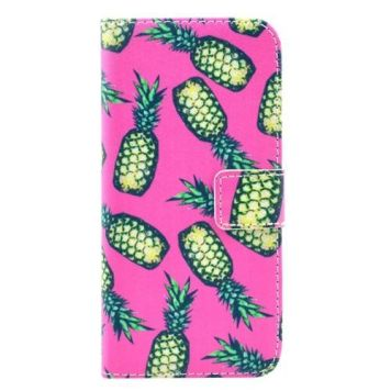 Pineapple Leather Wallet iPhone 6 & 6S Case 1