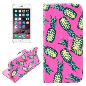 Pineapple Leather Wallet iPhone 6 & 6S Case