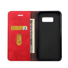 Red Horse Flip Leather Wallet Samsung Galaxy S8 PLUS Case 3