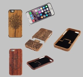 Engraved Wooden PatternCovers