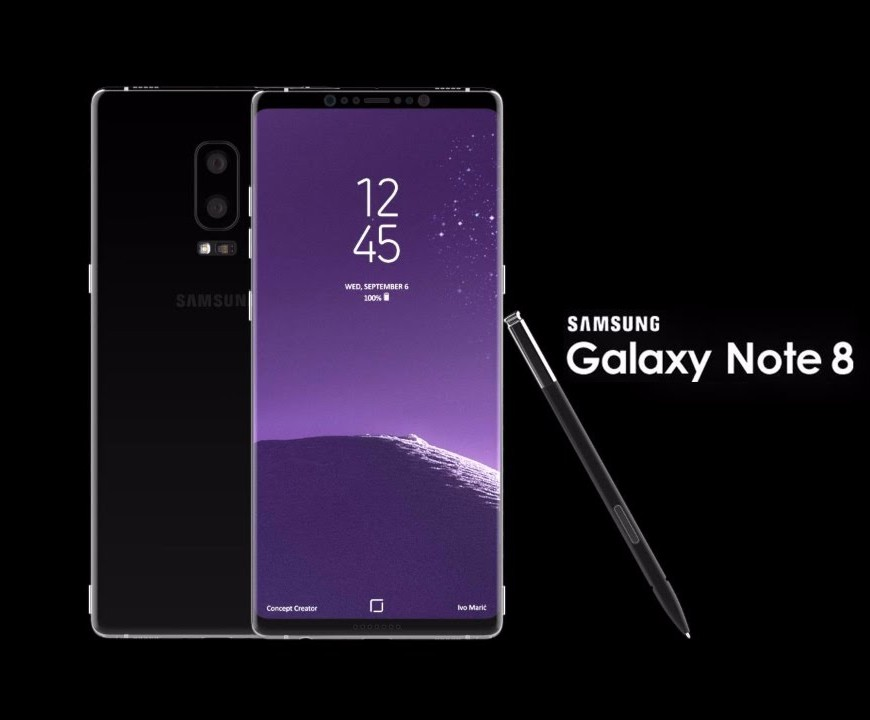 Samsung's Galaxy Note 8 launch