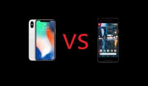 Apple iPhone X vs Google Pixel2XL