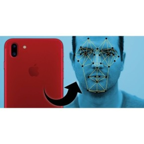 Facial-scanning feature in iPhone X