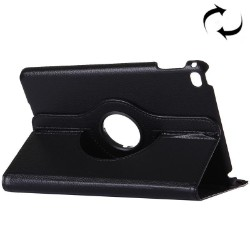 Black Lychee Leather Smart iPad Pro 12.9 Inch Cover