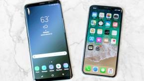 Samsung Galaxy S9 vs iPhoneX