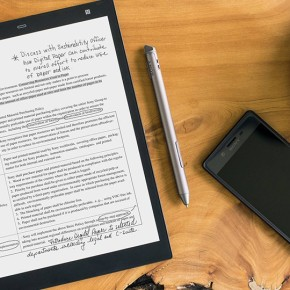 Sony's New Digital Paper Tablet – A sheet of paper that never runs out