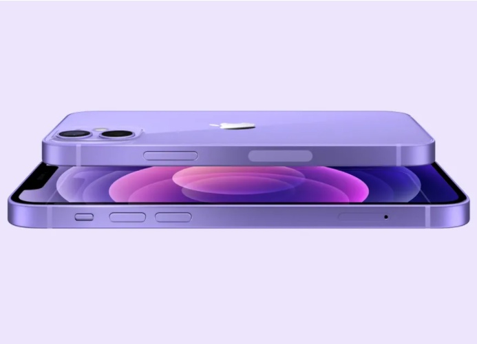 Purple iPhone 12 and iPhone 12 mini