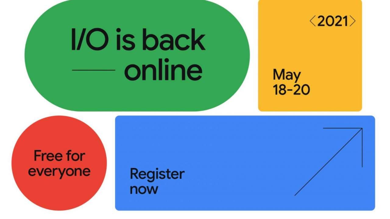 Google I/O Event 2021